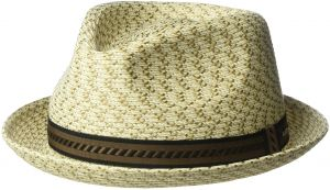 Bailey of Hollywood Men s Mannes Braided Fedora Trilby Hat d2e408aa34fe