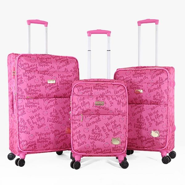 8120e53a685d Hello kitty Luggage Trolley Bags Set