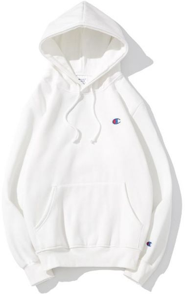 d1b6c515c1fbc Champion Basic Small Embroidered Logo Hoodie