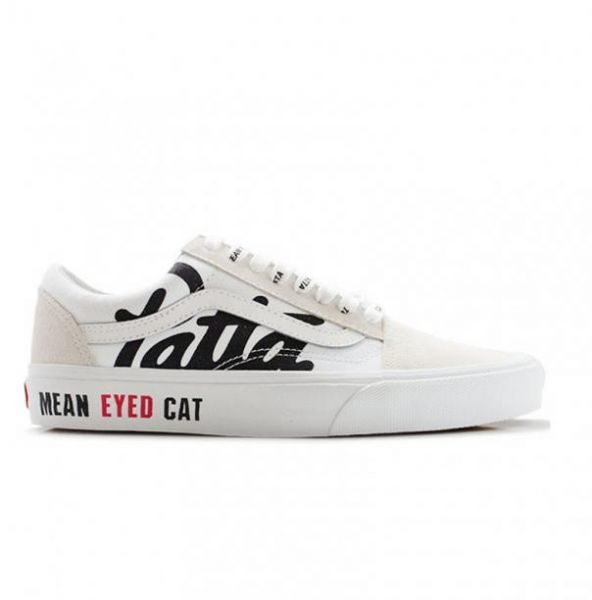 134657cc661 vans mean eyed cat off white - unisex