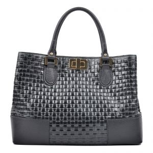 525764e4d851 Carla Ferreri Black Tote Bag For Women