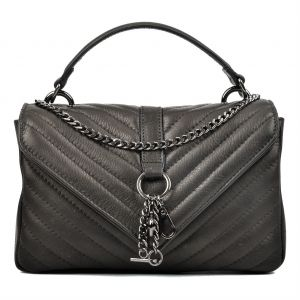 de48e2fbeead Carla Ferreri Black Flap Bag For Women