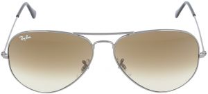 9670a8ce4f Ray-Ban Aviator Unisex Sunglasses - Brown Gradient Lens