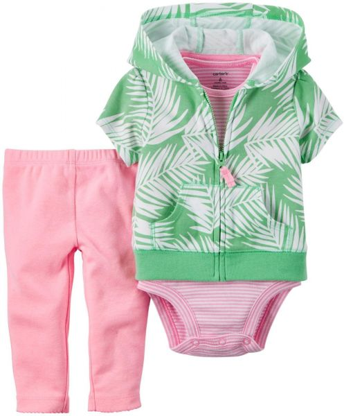 40f7a1711dca Carter s Baby Girls  3 Piece Cardigan Set 121g377