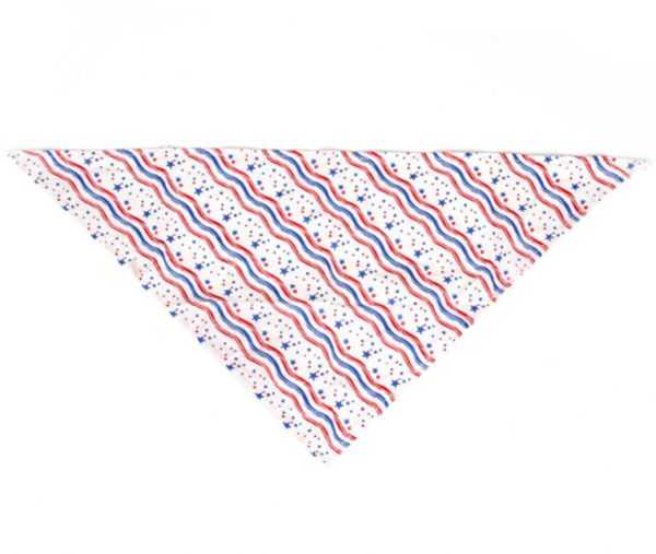 Pet dog bandanna waves star triangle belly scarf accessories for dogs, cats, pet animals