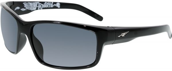 474bba9f44 Arnette Men s Polarized Fastball AN4202-226781-62 Black Rectangle Sunglasses.  by Arnette