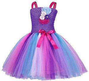 083d0954ac Rainbow Unicorn Tutu Dress Girls Princess Halloween Outfits with Headband  Birthday Pageant Party Dresses Girls for Baby Girls   Kids for 3-12 Y