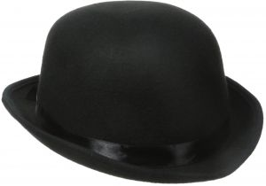 c350743a2c6 Jacobson Hat Company Men s Deluxe Felt Derby (5 Inch Tall)