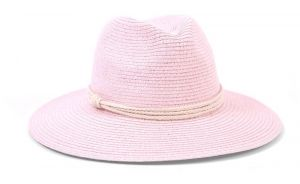893c9332caf ale by Alessandra Women s Mariella Toyo Straw Fedora Sunhat Packable and  Adjustable
