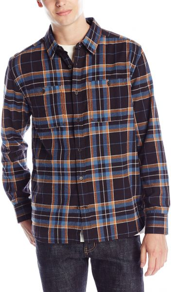 770c6f30135 DC Men s South Ferry Long Sleeve Flannel Shirt