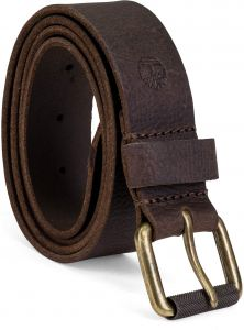 b18b7e8703e Timberland Men's 40Mm Milled Pull Up Leather Belt, Dark Brown, 38 ...