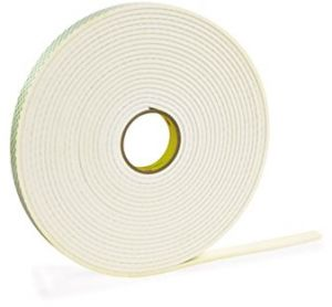 Roll of 1000 0.875 Inches Diameter Circle 3M 4032 CIRCLE-0.875-1000 Double Coated Foam Tape 3M 4032 3M 4032 CIRCLE-0.875-1000