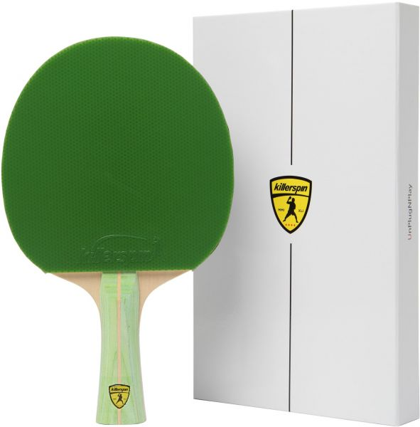 Killerspin JET200 LimeTable Tennis Paddle - Ping Pong Paddle That Will Take You from a Recreational Player to a Fierce Competitor Now Arrives in Designed Memory Book