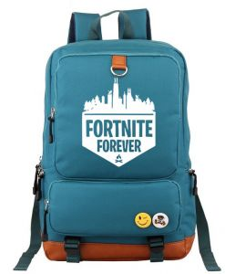 Fortnite Games Around Series Multifunctional Large Capacity Casual Backpack  Letter Printed Tear Resistant Laptop Travel Canvas Rucksack  a5a17e9ada110