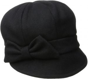 3ca074a185f San Diego Hat Company Women s Wool Cap with Self Fabric Bow