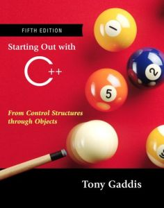 Buy Starting Out With Java From Control Structures Through Objects