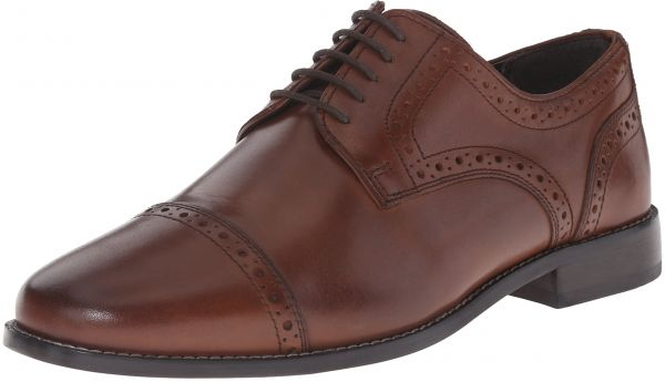 9b809ad563c Nunn Bush Men s Norcross Cap Toe Oxford Dress Casual Lace up