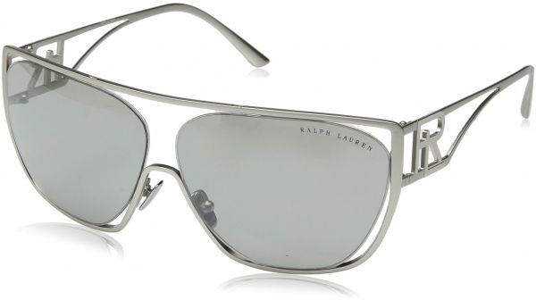 49841de8ec5 Ralph by Ralph Lauren Women s Metal Woman Sunglass Non-Polarized Iridium  Rectangular