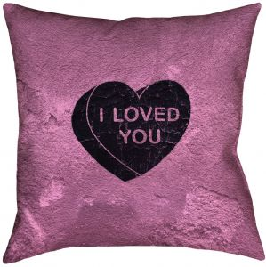 3dRose pc/_218348/_1 I Love Mississippi with a Heart on The State Black Red Purple Pillow Case 16 x 16
