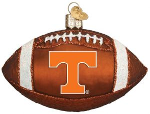Old World Christmas University of Tennessee Football Glass Blown Ornament 5d52a4c08