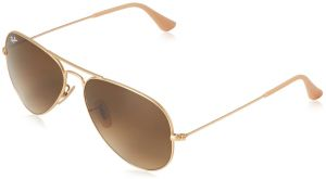 aba5eef8d4 Ray-Ban 3025 Aviator Large Metal Non-Mirrored Non-Polarized Sunglasses