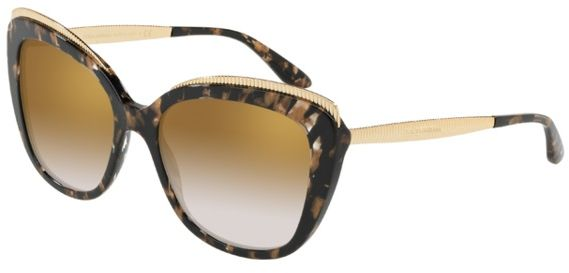 e305adfc5466 Dolce & Gabbana Butterfly Sunglasses For Women - Multi Color, 4332, 57,  911, 6E
