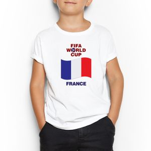 Fifa France White Round Neck T-Shirt For Kids 13 - 14 Years 2d7d3e3e0
