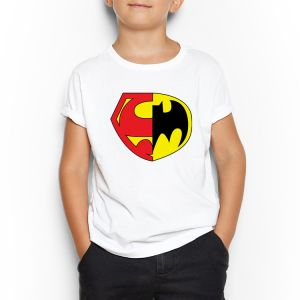 2e8ac5ee8d Superman White Round Neck T-Shirt For Kids 9 - 10 Years