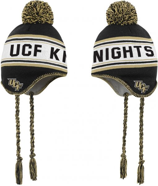 NCAA Central Florida Golden Knights Kids Jacquard Tassel Knit Hat w ... b08f2687786