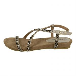 8bb55379f Kidderminster Leather lined Comfort Sandals for Women - Gold