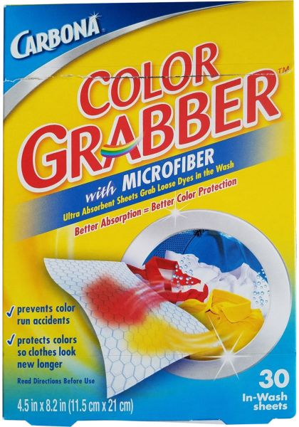 Carbona Color Grabber Cloth, 30 Sheet - 4.5 X 8.4 inch