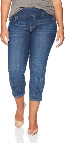 62602d21553 Jag Jeans Women s Plus Size Nora Skinny Pull on Ankle Jean