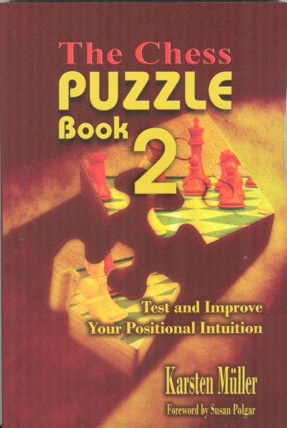 The Chess Puzzle Book 2: Test and Improve Your Positional Intuition  (Chesscafe Puzzle Book)