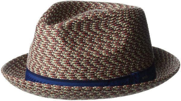 Bailey of Hollywood Men s Mannes Braided Fedora Trilby Hat ... f23bfeebd2d