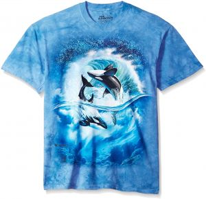 The Mountain Orca Wave Adult T-Shirt 3a679273a