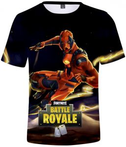 d9dabce3061 Competitive game Fortnite trend 3D digital printing men and women loose  short-sleeved T-shirt color 05
