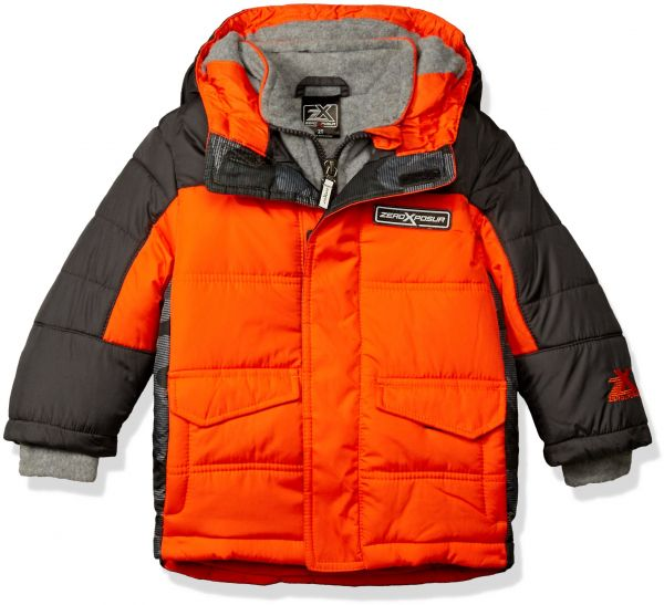 53143ecd6 ZeroXposur Little Boys  Toddler Warren Puffy Jacket