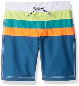 10e4b8b330 Gymboree Toddler Boys' Colorblock Swim Trunks, Pool Blue, 12-18 Mo