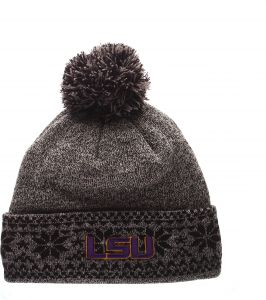 e879655e08d5a4 ... authentic zephyr ncaa lsu tigers mens timberwolf beanie one size multi  gray 3d68e 78b68