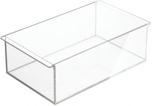 82c436db3b InterDesign Clarity Cosmetic Organizer Tray for Vanity Cabinet to Hold  Makeup