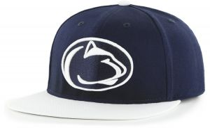 official photos 54d96 b2cdf OTS NCAA Penn State Nittany Lions Gallant Varsity Snapback Adjustable Hat, One  Size, Navy