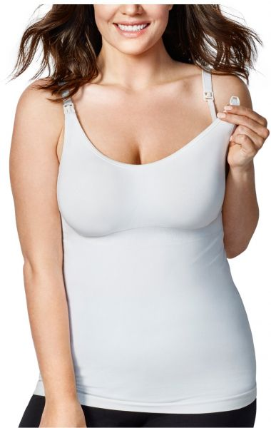 c2631c619b8 Bravado! Designs Women's Maternity Body Silk Seamless Nursing Cami, White,  X-Large | Souq - UAE