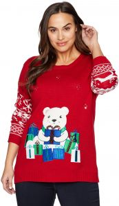 63f85ea9098 Notations Women s Plus Size Ugly Christmas Sweater