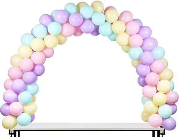 Table Balloon Arch Kit Free Adjustment Size Ideal Birthday Decorations Wedding Christmas Party Supplies Send 100