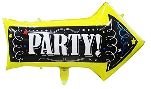 Smartcraft Party Arrow Foil Balloon Double Sided Party Decorations
