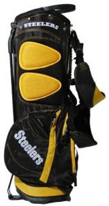 722f105234 NFL Pittsburgh Steelers Fairway Golf Stand Bag
