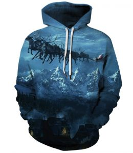 3D men s and women s spring autumn trend baseball wear long-sleeved hooded  sports pullover printing leisure clothes digital printing head of loose  lovers ... b11bd3634