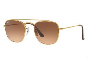 f3a7bae509 Ray-Ban Aviator Sunglasses for Men - Light Bronze