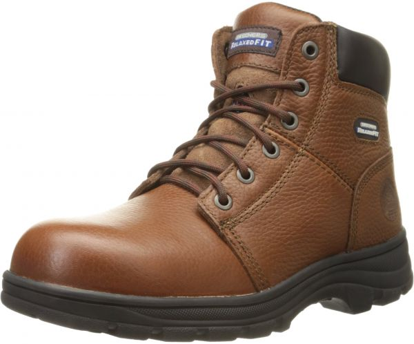 4ad92f9c2938 Skechers for Work Men s Workshire Relaxed Fit Work Steel Toe Boot ...