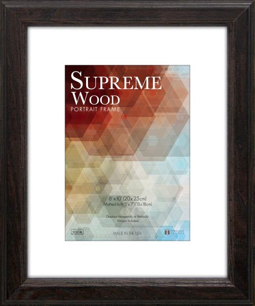 Timeless Frames 11x14 Inch Fits 8x10 Inch Photo Supreme Solid Wood